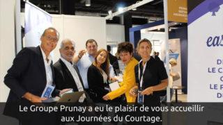 Le Groupe Prunay a eu le plaisir de vous accueillir aux Journées du Courtage