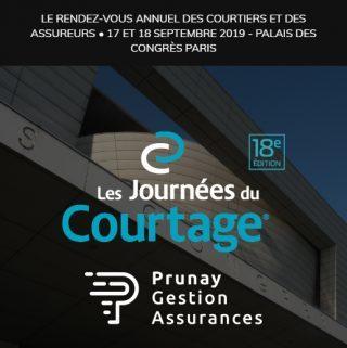 PGA, filiale du Groupe Prunay, participe à la 18ème édition des Journées du Courtage les 17 et 18 septembre 2019